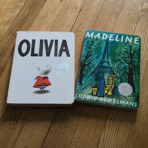 Olivia & Madeline Boardbooks